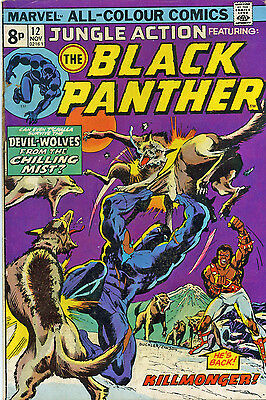 Jungle action 12 black panther . 1974