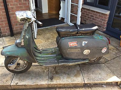 Lambretta dL 125 Poss Free Delivery ! Running !!