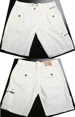 Protest Wizer Short W White Xs Bermuda Women New Skate Surf
