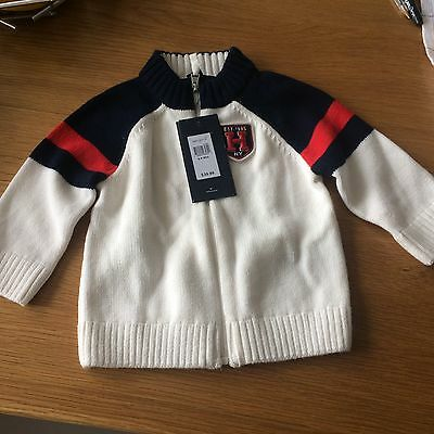Brand New Tommy Hilfiger Baby Cardigan