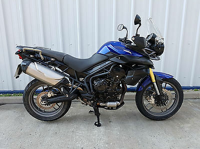 Triumph Tiger 800, 2012 Model Bike