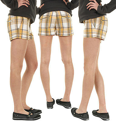 Vans Boardwalk Plaid Shorts 3 Woman Bermuda New Skate Surf
