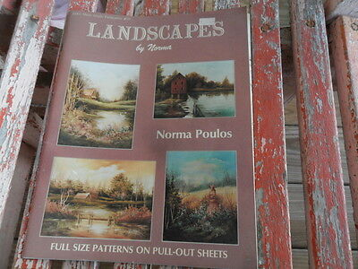 1988 Landscapes by Norma Poulos - Jackie Shaw Publication  - Art Painting