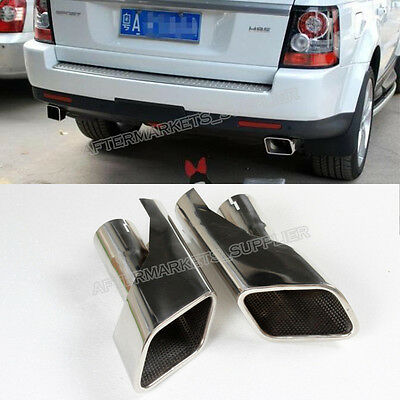 Tail Exhaust Tips Muffler Pipe For Land Range Rover Sport Petrol Gasoline 05-09