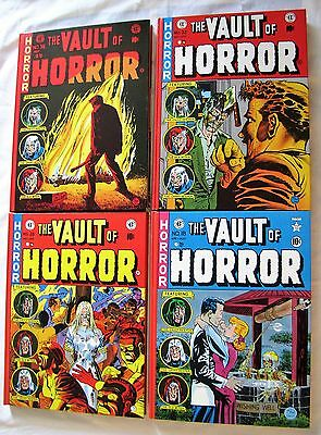 Complete THE VAULT OF HORROR EC Comics Library Slipcase 5 HC Russ Cochran