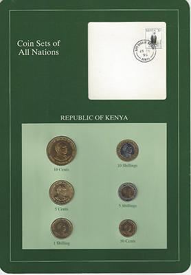 Coin Sets of All Nations, Kenya