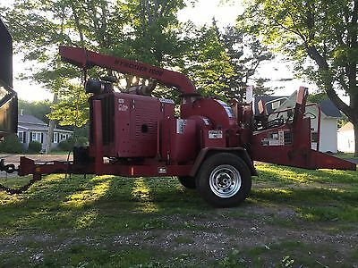 2005 wood chuck hyroller 1200 wood chipper cat turbo diesel, 115 hp. 12 inch