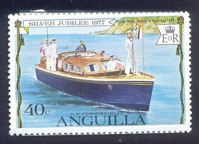 Anguilla Mint Stamp 40C Prince Philip Landing Bay Boat Flag Commissioner A3987