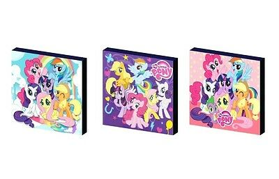 My Little Pony Canvas Wall Art Plaques/pictures