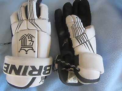 Brine Lacrosse gloves youth/women's size about a Medium/Large