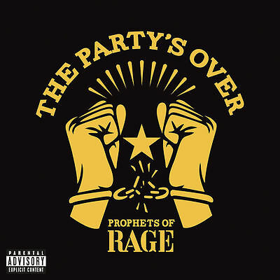 Prophets Of Rage - The Party's Over(Ltd Red Vinyl)