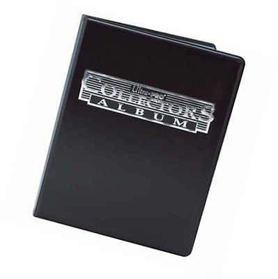 Ultra Pro 81374 - 4 Pocket Black Collectors Portfolio