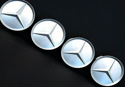 Mercedes Benz AMG Alloy Wheel Center Caps 65 mm tapas llantas 64mm cl slk clc