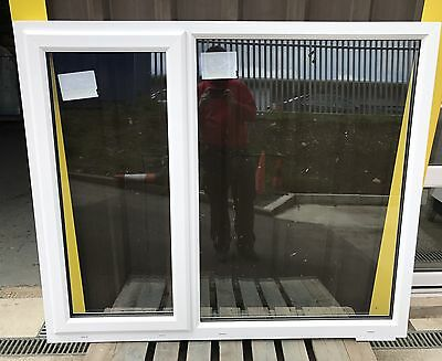 White Upvc Windows. Brand New With Energy Efficient Glass.
