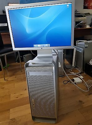 Apple Mac G5PowerPCG5 1.8GHz 74G,4GB,10.3.7 Apple Cinema Display No Power Supply