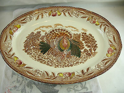 "Turkey Platter 20"" x 15"" LARGE"
