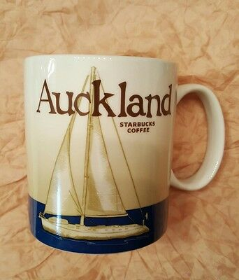 1 NEW Starbucks New Zealand Auckland Global Series city mug 16 oz Authentic SKU