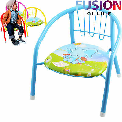 Childrens Chairs Kids Chair Children Baby Stool Tea Party Garden Nursery School
