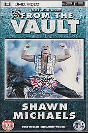 WWE - From The Vault: Shawn Michaels [UMD Mini for PSP], Good DVD, ,
