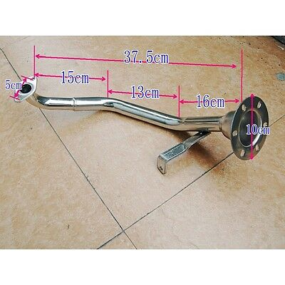 150cc PERFORMANCE EXHAUST HEADER TYPE L FOR GY6 MOTORS