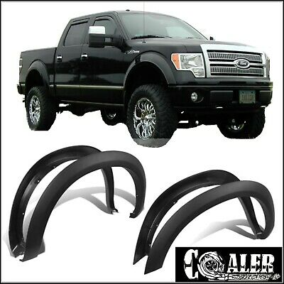 FENDER FLARES FACTORY OE STYLE  2004 - 2008 FORD F150 PICK UP 4PCS Paintable