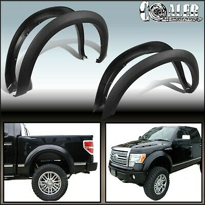 2008 Ford F150 Fender Flares Factory Oe Style Smooth 4Pcs Paintable No Drilling