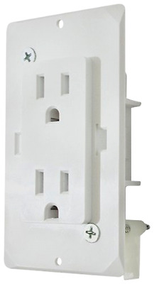 Speed Box Receptacle with Cover Electrical Fittings Supply Outlet Diamond Group