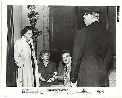 Marilyn Monroe Lobby Publicity Still  Don't Bother To Knock 1952 Original photo