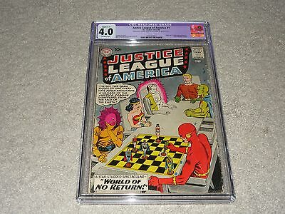 Justice League of America (1960 1st Series) #1 - CGC 4.0 Restored - 1491383001