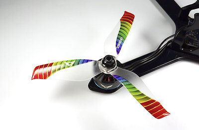 5x4.2x3 SCHUBKRAFT WINGS 3-Blatt Propeller 5042 - Limited Edition RAINBOW