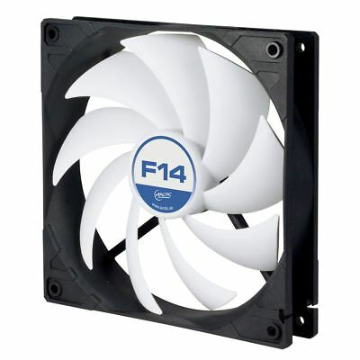 Arctic F14 Silent 140mm PC Case Cooling Fan - High performance