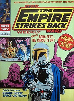 The Empire Strikes Back, Star Wars Weekly,No 129, August 1980, Marvel Comics,Spa