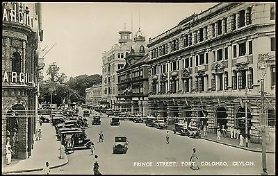 Vintage Postcard Prince Street Fort Colombo Unused Ref: KA086