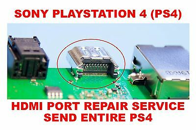 Sony Playstation 4 PS4 HDMI Port Replacement Repair Service (Entire Console)