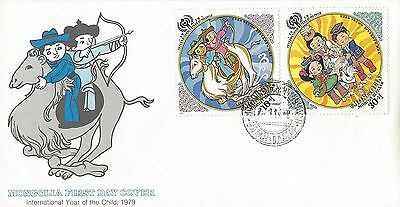1979 Mongolia Year of the Child FDC