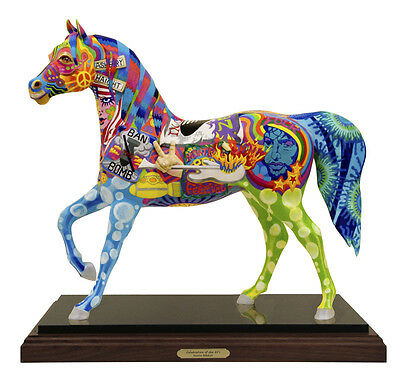 Trail of Painted Ponies CELEBRATION OF THE '60s Masterwork - 2 Feet Tall