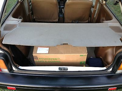OEM FORD FESTIVA GRAY Cargo Shade Cover EXTRREMELY RARE. USED 1988-93