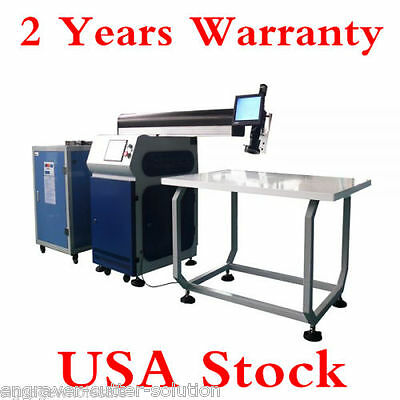 US Stock Ving 500W Dual Optical Path Laser Welding Machine for Fine Metal Channe