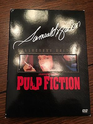 Samuel L Jackson signed Pulp Fiction Collector's Edition DVD Autographed
