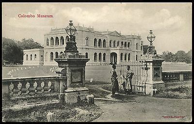 Vintage Postcard Colombo Museum Unused Ref: KA102