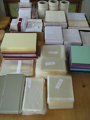 A4 Card, Paper, Envelopes, Poly Bags, Double Sided Tape (Rrp £470)
