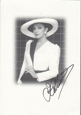 "JOAN COLLINS  - 12"" x 8"" Photograph PERSONALLY SIGNED without DEDICATION   F#23"