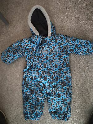 Tresspass winter snow suit for ages 6-12 mths