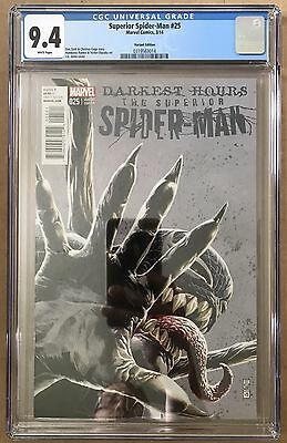 The Superior Spider-Man #25 ⭐️ J.G. Jones Variant ⭐️ 9.4 CGC Graded ⭐️ Venom