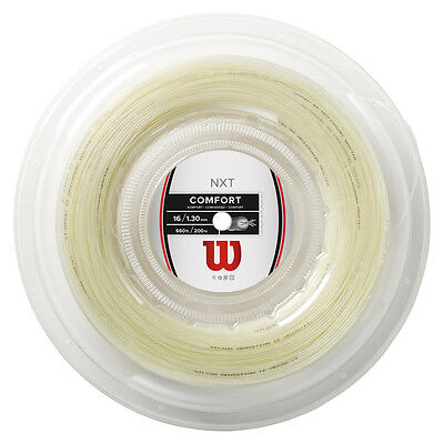 Wilson NXT tennis string 660 ft reel, 16 gauge, high end  multifiliment string