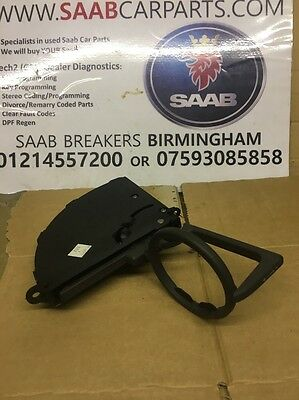 Saab 9-5 95 Front Dash Cup Holder  In Good Condition