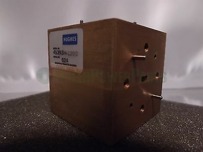 HUGHES MILLIMETER-WAVE 45393H-1200 Waveguide Matched Hybrid Tee 50-75 Ghz