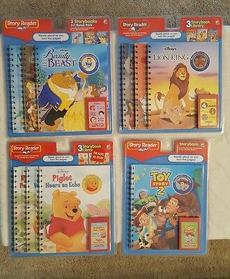 story reader books - beauty and the beast - disney - storybook lot