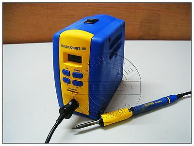 Used Good HAKKO FX-951 Soldering Station with 1pc Handle Pen,120V,75W