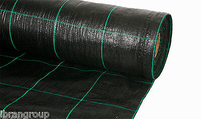 Landscape Fabric 2m x 50m HEAVY DUTY ground cover weed suppressant FABREX-100
